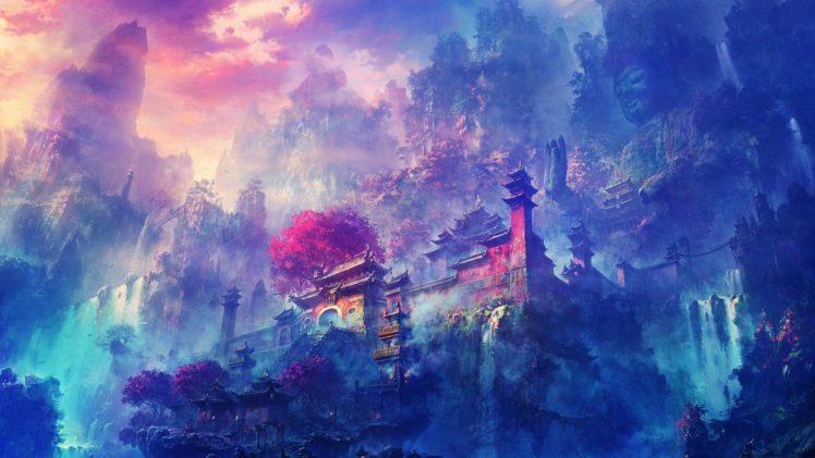 monastery, Zen, Buddhism, Temple HD Wallpaper Desktop Background