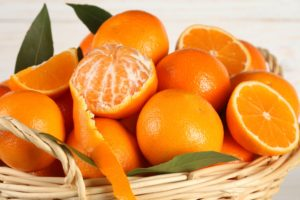 orange (fruit), Baskets