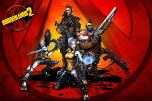 Borderlands 2, Maya (Borderlands), Zer0, Axton, Salvador, Borderlands