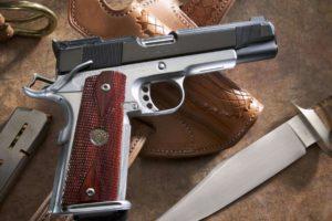 gun, Knife, Pistol, M1911