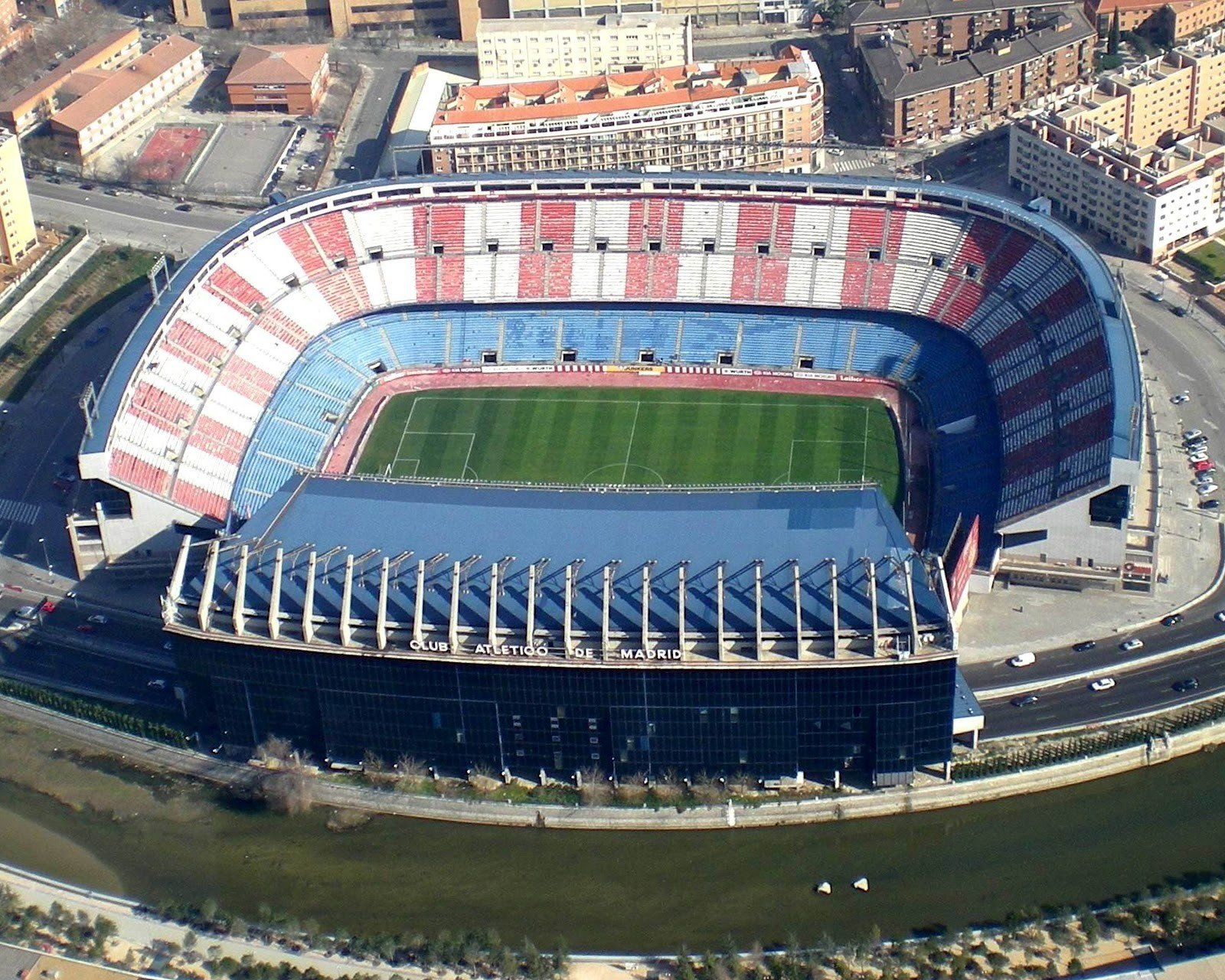 Atletico Madrid, Stadium HD Wallpapers / Desktop and ...