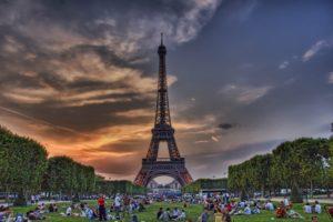 HDR, France, Paris, Cityscape