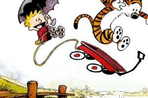 Calvin and Hobbes, Drawing