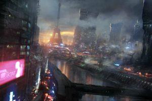 Paris, Cyberpunk