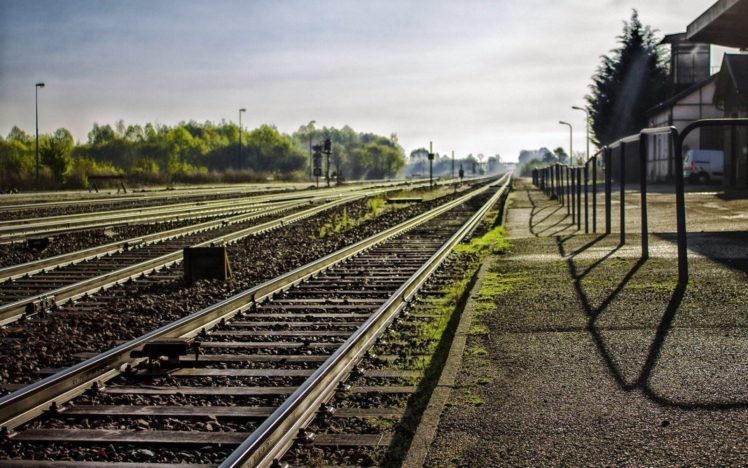 Train Station Railway Hd Wallpapers Desktop And Mobile