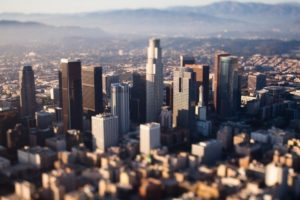 tilt shift, Cityscape, Los Angeles