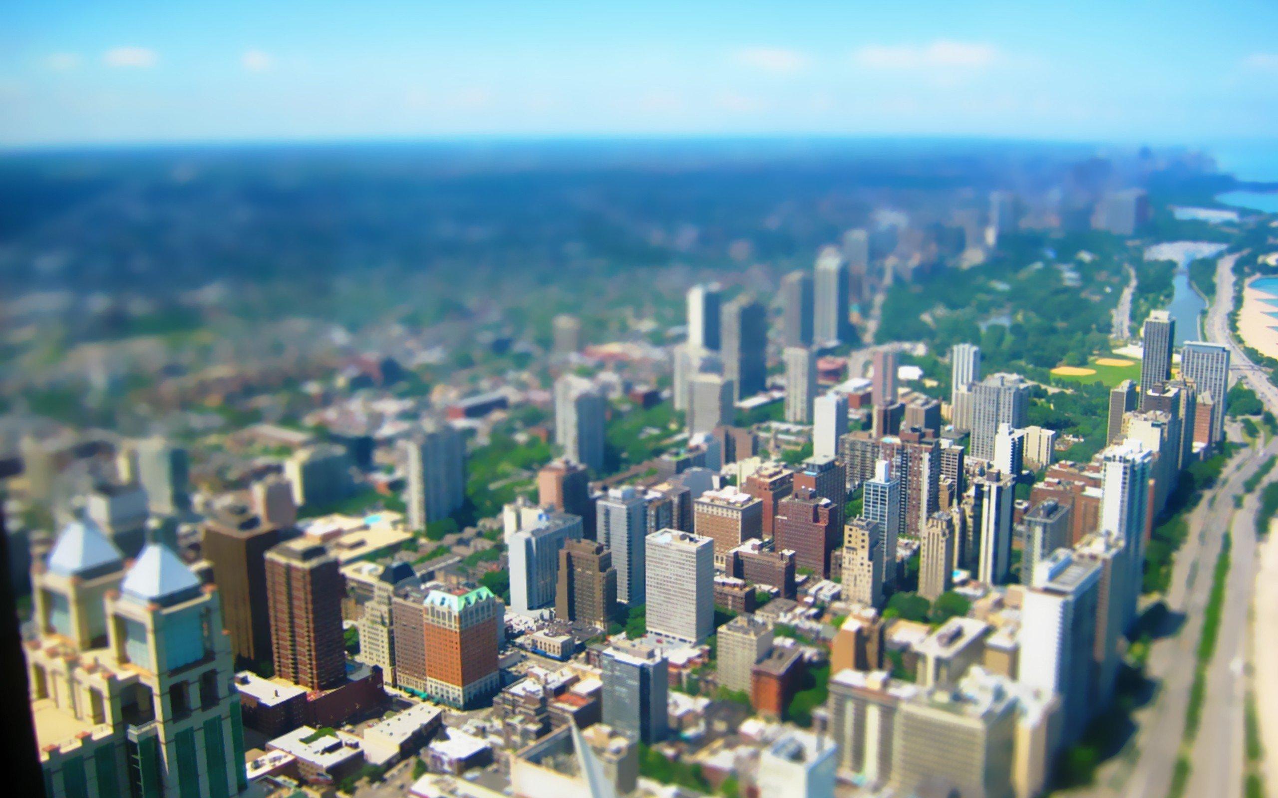 Город с высоты птичьего полета бесплатно
