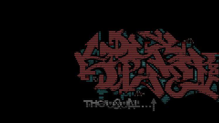 Ascii Art Demoscene Graffiti Hd Wallpapers Desktop And Mobile