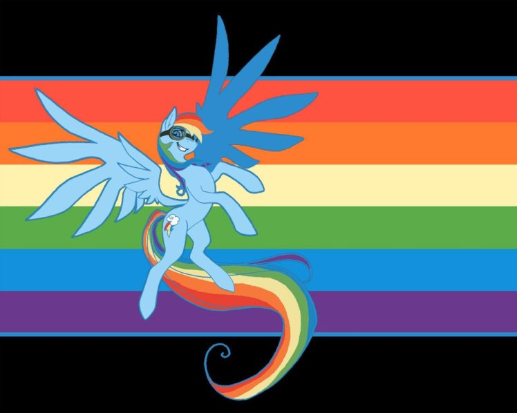 My Little Pony, Rainbow Dash HD Wallpaper Desktop Background