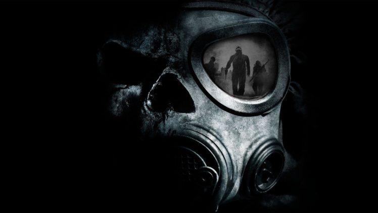 mask, Black Mask, Gas masks, Apocalyptic HD Wallpaper Desktop Background