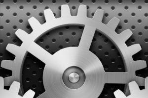 Apple Inc., Gears, Icon