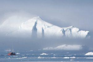 ice, Greenland, Boat