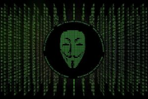 crossover, V for Vendetta, Anonymous, The Matrix, Numbers, Hacking