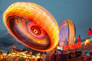 motion blur, Long exposure, Lights, Neon, Wheels