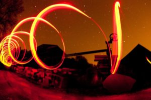 photography, Light painting, Spiral