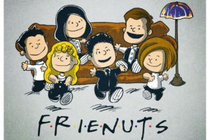 Friends (TV series), Peanuts (comic), Crossover
