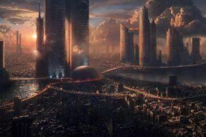 science fiction, Skyscraper