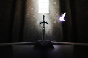 The Legend of Zelda, Navi, Master Sword, Triforce
