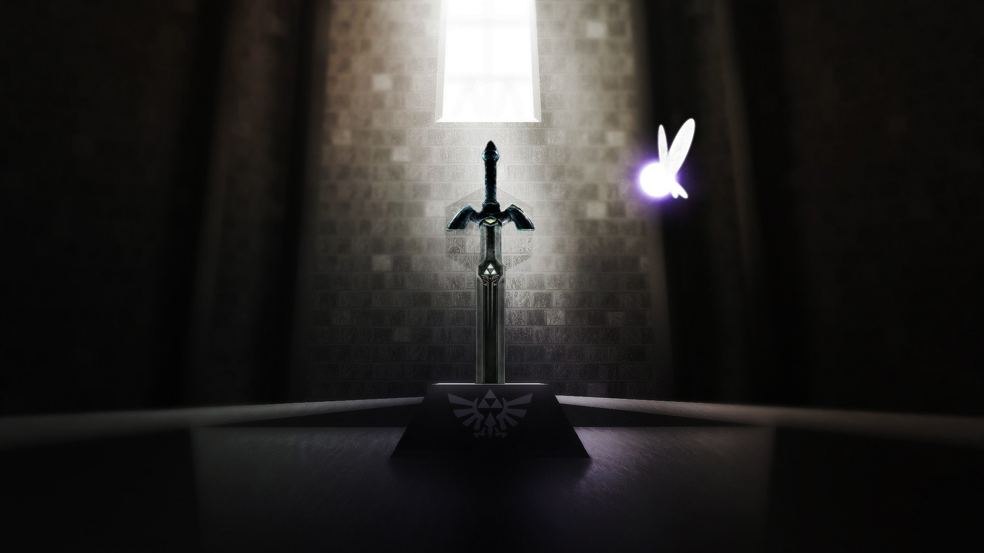 The Legend Of Zelda Navi Master Sword Triforce Hd Wallpapers
