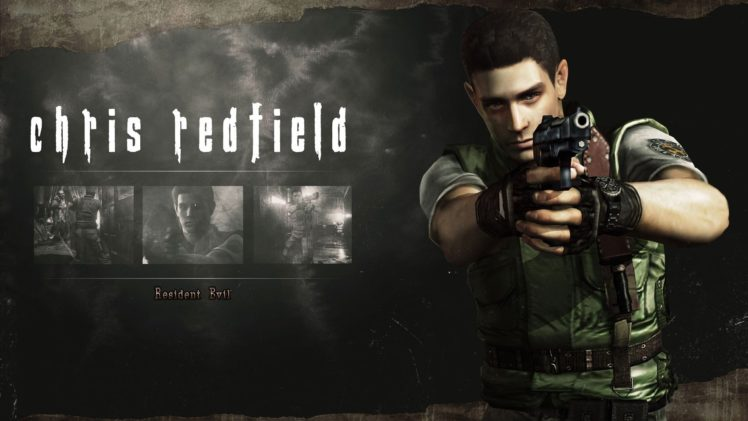 Chris Redfield, Resident Evil HD Remaster HD Wallpaper Desktop Background