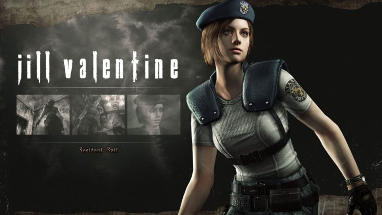 Jill Valentine, Resident Evil HD Remaster HD Wallpaper Desktop Background