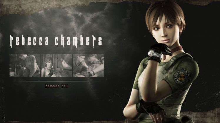 Resident Evil Hd Remaster Rebecca Chambers Hd Wallpapers