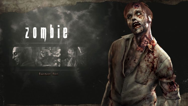 Resident Evil HD Remaster HD Wallpaper Desktop Background
