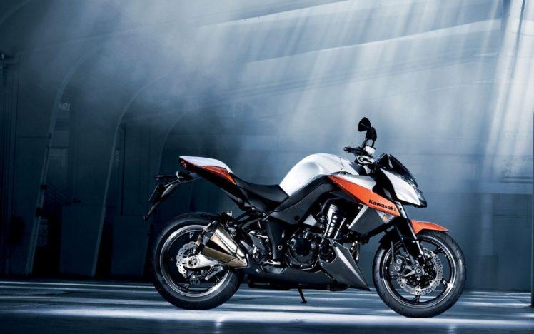 Kawasaki Z1000 HD Wallpaper Desktop Background