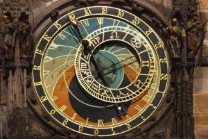 architecture, Prague, Czech Republic, Clocktowers, Clocks, Clockwork, Astronomy, Skeleton, Old building, Zodiac, Machine, History