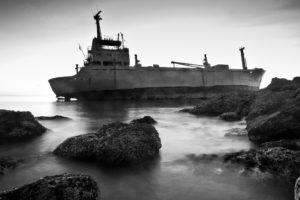 ship, Monochrome