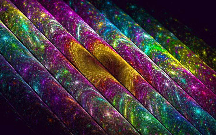 fractal, Colorful HD Wallpaper Desktop Background
