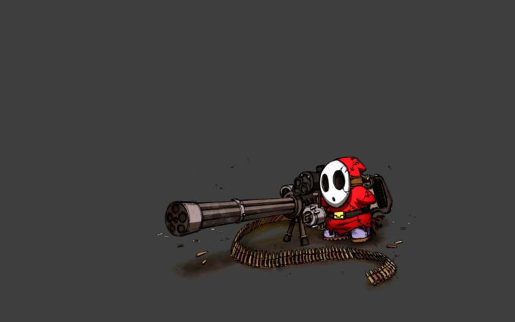 Super Mario Shy Guy HD Wallpaper Desktop Background