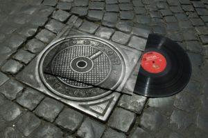 photography, Vinyl, Photo manipulation, Music, Street