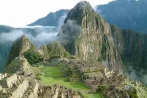 Peru, Machu Picchu, Mountain, Mist, Architecture, Inca