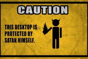 caution, Signs, Devils