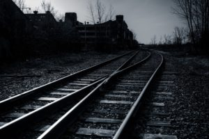 photography, Dark, Railway