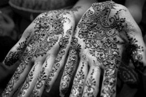 photography, Henna, Monochrome, Hand