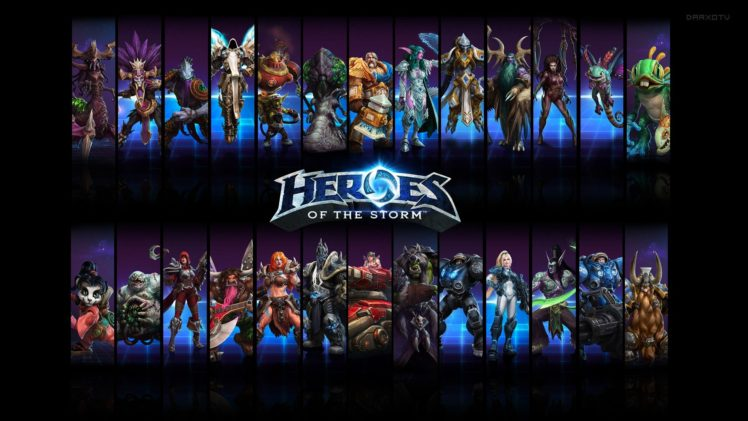 Heroes Of The Storm Blizzard Entertainment HD Wallpaper Desktop Background