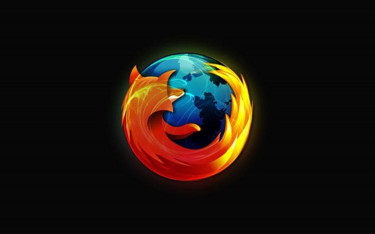 Mozilla Firefox, Logo HD Wallpaper Desktop Background