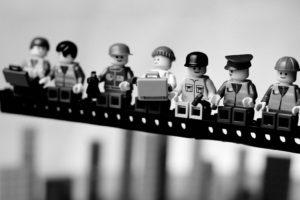 LEGO, Parody, Monochrome