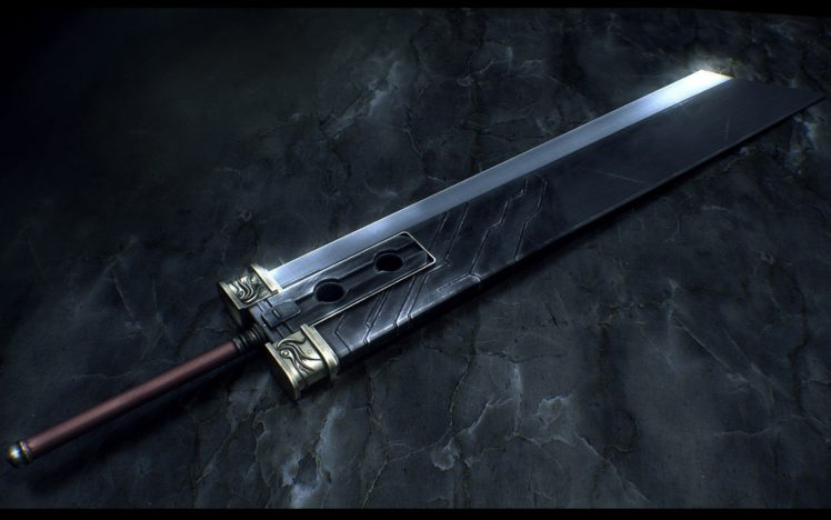 Final Fantasy Buster Sword Hd Wallpapers Desktop And