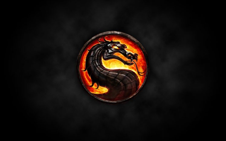 Mortal Kombat, Logo HD Wallpaper Desktop Background