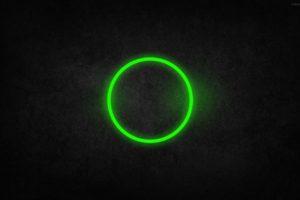 green, Circle