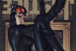 Catwoman, Justice, Artgerm