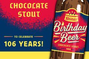 beer, Shiner, Chocolate, Happy birthday