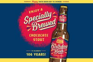 beer, Shiner, Happy birthday, Chocolate