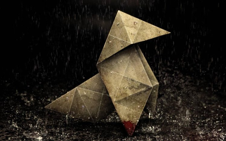 Origami Heavy Rain Hd Wallpapers Desktop And Mobile Images Photos
