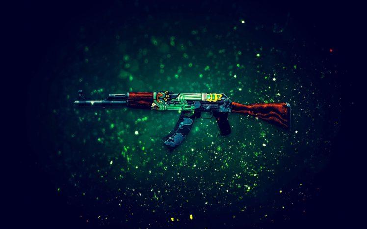 AK 47, Counter Strike: Global Offensive HD Wallpaper Desktop Background