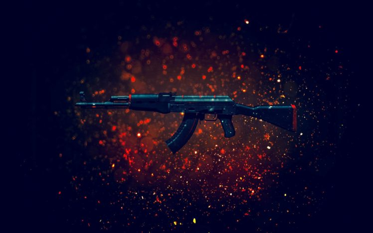 Counter Strike Global Offensive Weapon Gun Akm Hd Wallpapers