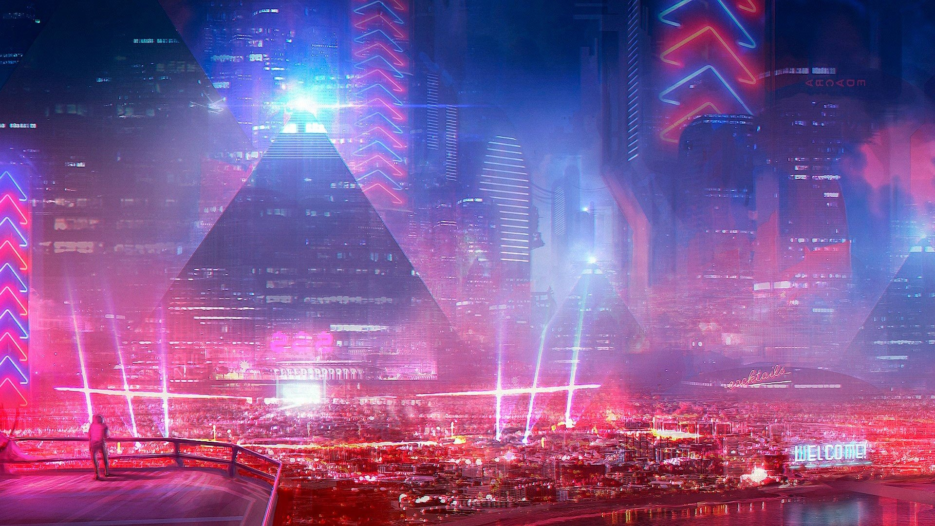 city, Cyberpunk, Science fiction HD Wallpapers / Desktop ...